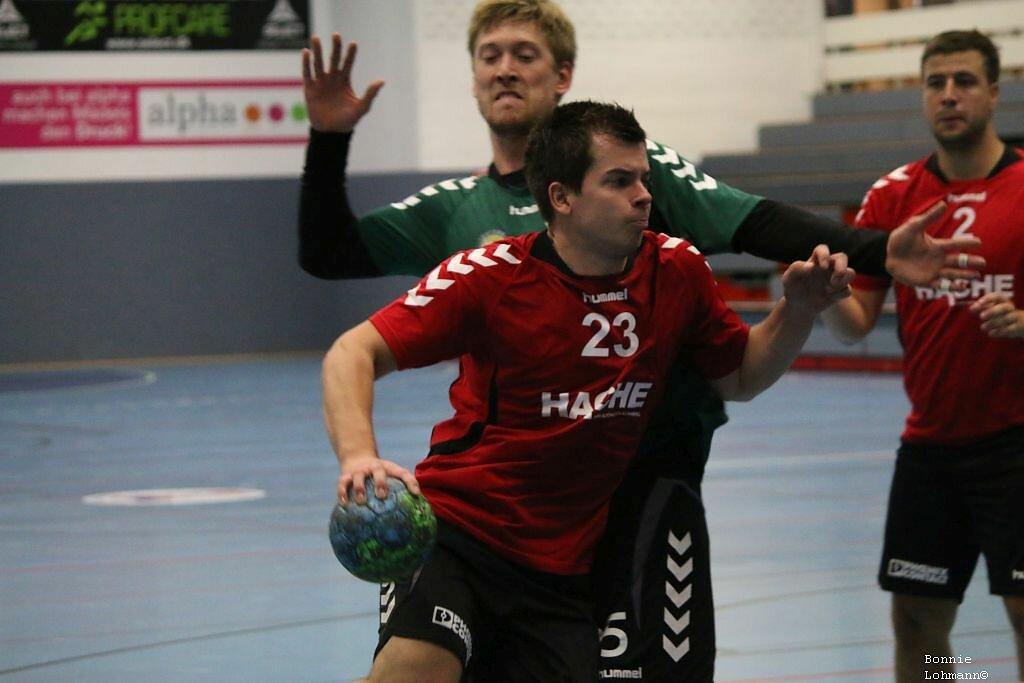 m1  HSG Blomberg-Lippe  -  TSV Schloß Neuhaus