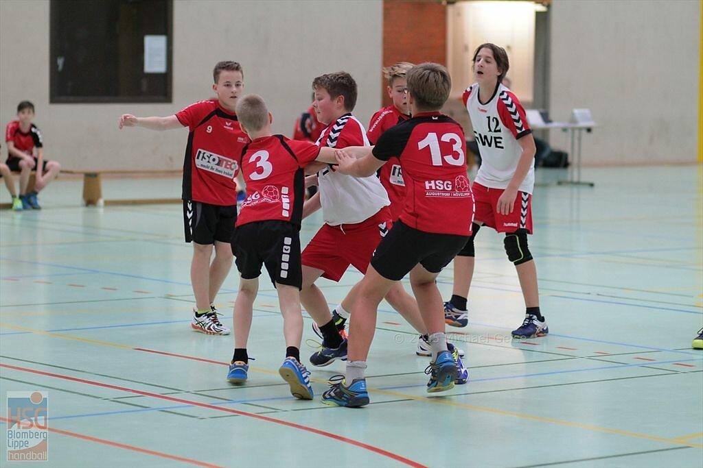 mD  HSG Augustdorf/Hövelhof  -  HSG Blomberg-Lippe