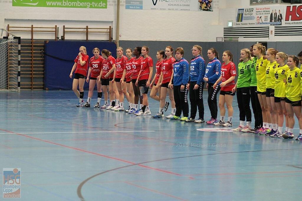 jblh (wA1)  HSG Blomberg-Lippe  -  Frankfurter Handball-Club
