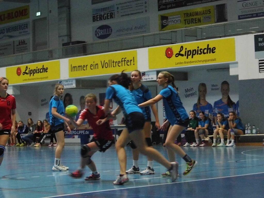 wB2 HSG Blomberg-Lippe - TSV Hillentrup