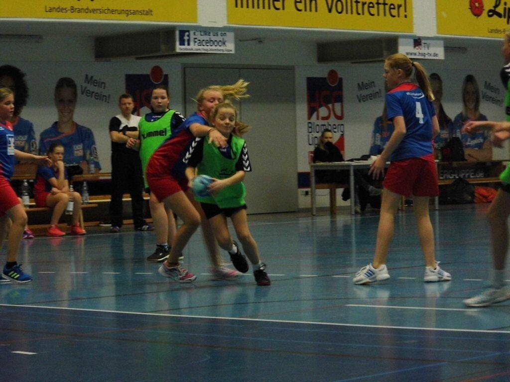 wD2 HSG Blomberg-Lippe - VfL Schlangen