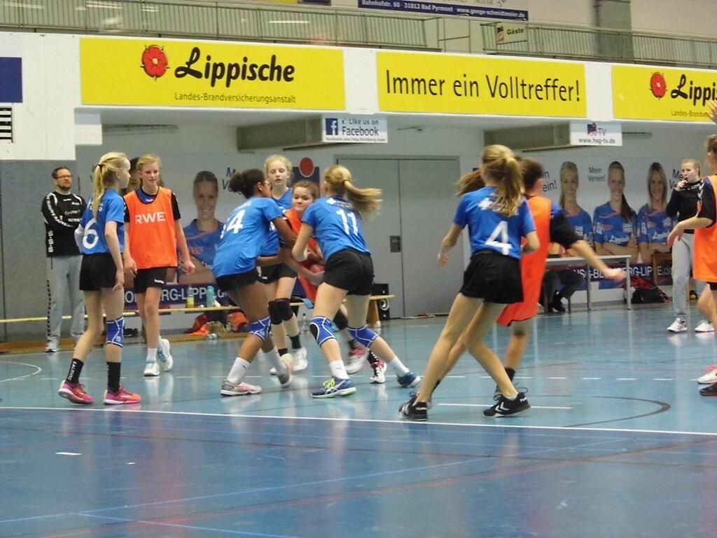 wD2 HSG Blomberg-Lippe - Handball Lemgo1