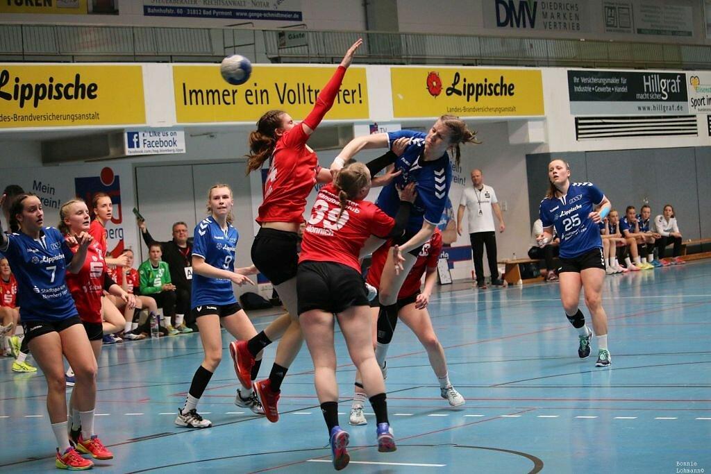 wB1 HSG Blomberg-Lippe - Frankfurter HC