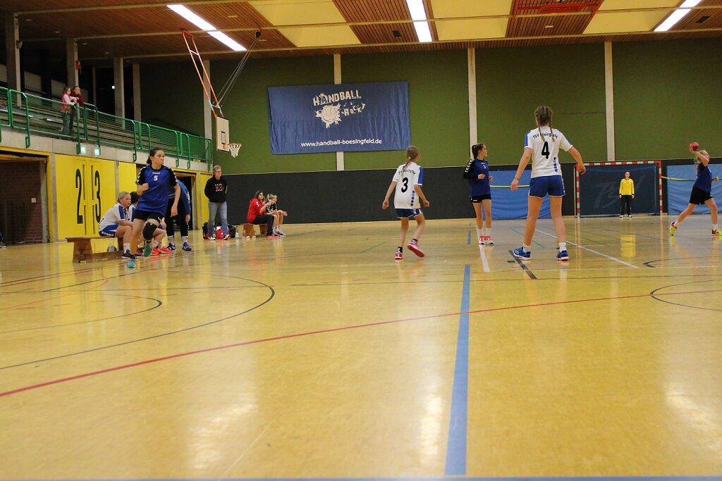 TSV Bösingfeld - wD1 HSG Blomberg-Lippe