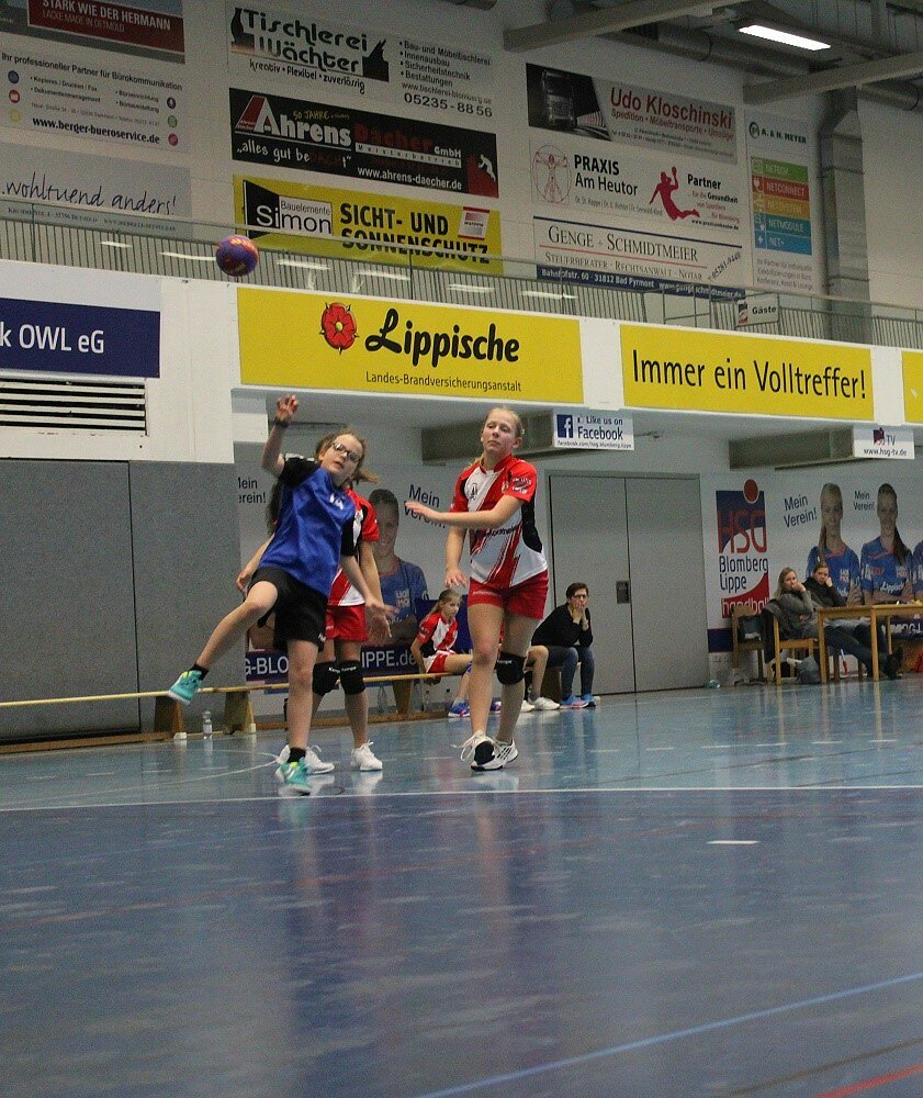 wD2 HSG Blomberg-Lippe - TSV Hillentrup